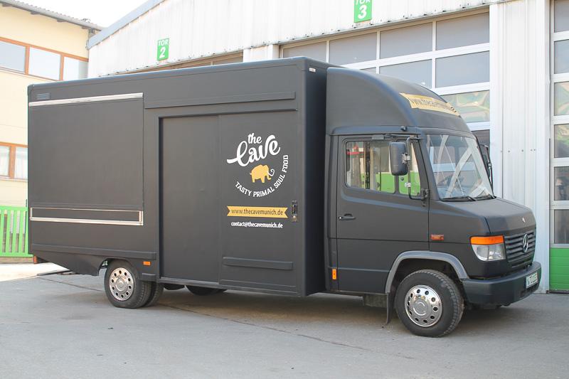 Food Truck Stromversorgung